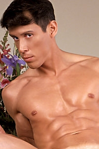 male muscle porn star: Sal Antonio, on hotmusclefucker.com