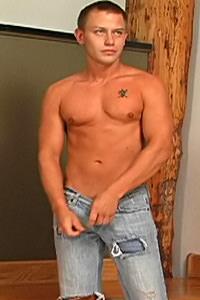 male muscle porn star: Troy D., on hotmusclefucker.com