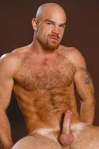 male muscle porn star: Lance Gear, on hotmusclefucker.com