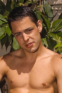 male muscle porn star: Kaine Richards, on hotmusclefucker.com