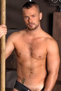 male muscle gay porn star Owen Hawk | hotmusclefucker.com