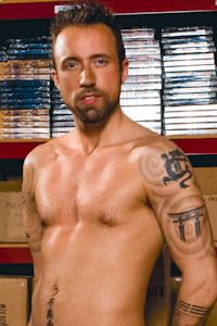 male muscle porn star: Xander Solis, on hotmusclefucker.com