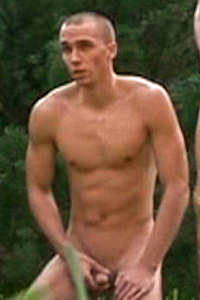 male muscle porn star: Martin Nehmet, on hotmusclefucker.com