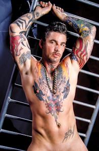 male muscle gay porn star Steve Cannon | hotmusclefucker.com