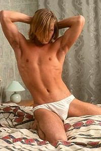 male muscle porn star: Ray Renfro, on hotmusclefucker.com