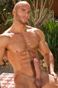 male muscle gay porn star Sean Zevran | hotmusclefucker.com
