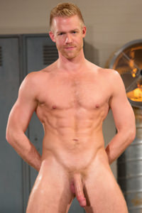 male muscle porn star: Christopher Daniels, on hotmusclefucker.com