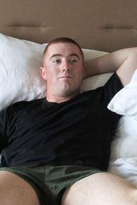 male muscle porn star: Logan II, on hotmusclefucker.com
