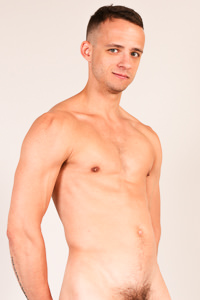 male muscle porn star: Nate Grimes, on hotmusclefucker.com