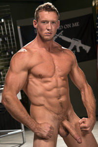 male muscle gay porn star Pierce Paris | hotmusclefucker.com