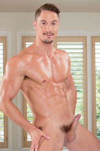 male muscle porn star: Skyy Knox, on hotmusclefucker.com