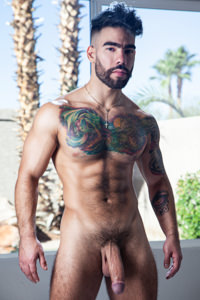 male muscle gay porn star Papi Suave | hotmusclefucker.com