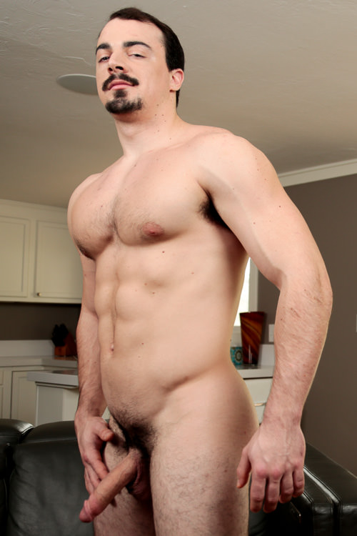 male muscle porn star: Alex James, on hotmusclefucker.com