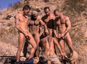 gay muscle porn clip: Mirage - Dirk Jager & Huessein & Jake Deckard & Matthieu Paris & Steve Cruz & Tamas Eszterhazy, on hotmusclefucker.com