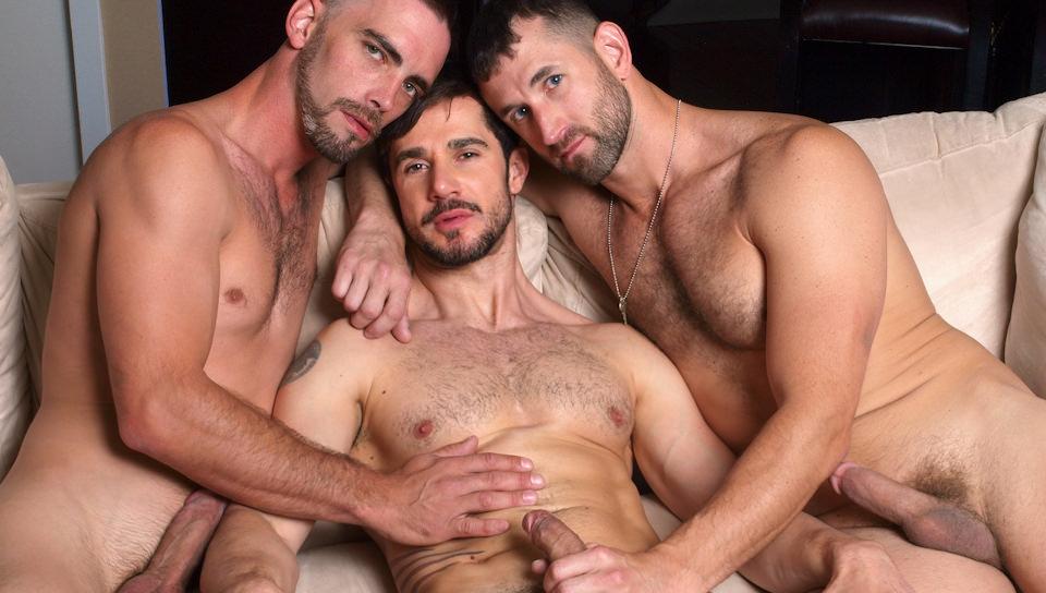Il 3 Way bacio – Dean Monroe, Joe Parker, CJ Parker (HighPerformanceMen.com)