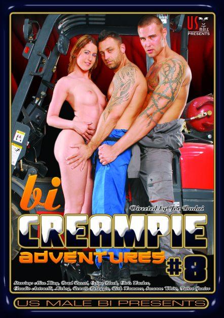 Bi Creampie Adventures #08, muscle porn movie / DVD on hotmusclefucker.com