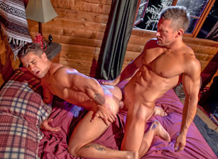 gay muscle porn clip: The Woods: Part 1 - Tomas Brand & Trenton Ducati, on hotmusclefucker.com