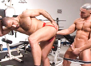 gay muscle porn clip: Fistpack 9 - Stretch - Alex Corsi & Francois Sagat, on hotmusclefucker.com
