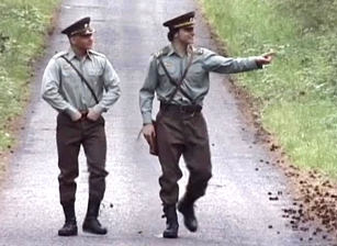 Soldiers from eastern europe