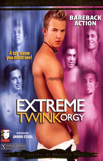 Extreme Twink Orgy, muscle porn movie / DVD on hotmusclefucker.com