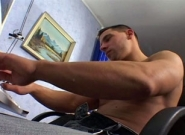 Muscle And Cum #03, Scene #04