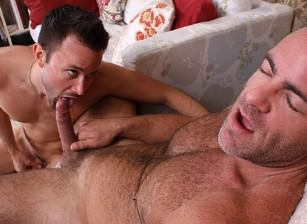 gay muscle porn clip: Tool Box - David Scott & Trace Michaels, on hotmusclefucker.com