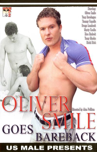 Oliver Smile Goes Bareback, muscle porn movie / DVD on hotmusclefucker.com