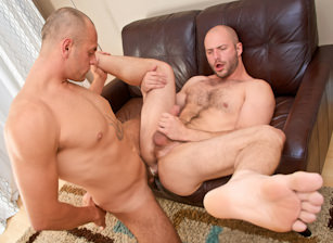 gay muscle porn clip: All Play No Work - David Chase & Enzo Rod, on hotmusclefucker.com