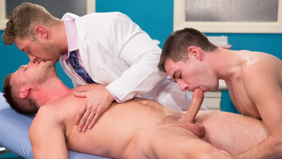 I miei Rocks medico, Scene # 03 – Johnny Ryder, Dylan Knight, Hans Berlin (hothouse)