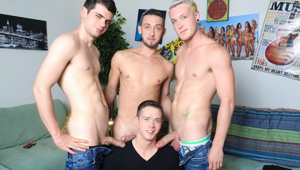 The In Crowd – Blake Savage, Jason Ackles, Kaydin Bennett, Billy Ramos (CircleJerkBoys.com)