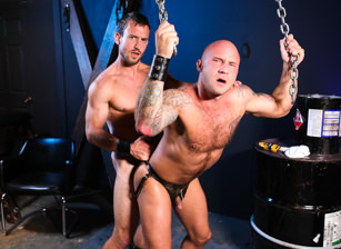 gay muscle porn clip: Pup Grooming - Drake Jaden & Mike Gaite, on hotmusclefucker.com