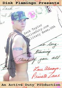 Love Always, PVT Zane DVD Cover