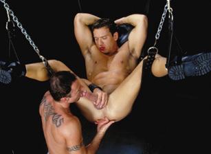 gay muscle porn clip: NeXus - Aaron Tanner & Carlos Morales, on hotmusclefucker.com