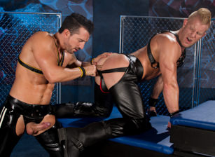 gay muscle porn clip: The URGE - Huntin For Ass - Jimmy Durano & Johnny V, on hotmusclefucker.com