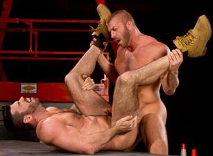 Billy Santoro & Hunter Marx in Clusterfuck! 2 | hotmusclefucker.com