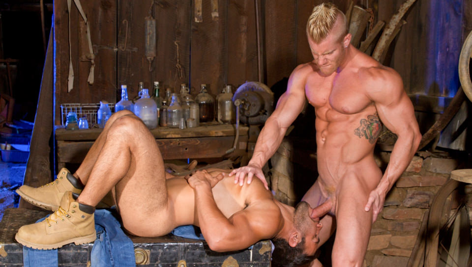 L'esposizione totale 2, Scene # 07 – Johnny V, Dorian Ferro (ragingstallion)