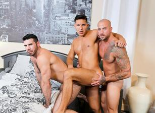 gay muscle porn clip: Sharing Done Right - Billy Santoro & Sean Duran & Seth Santoro, on hotmusclefucker.com
