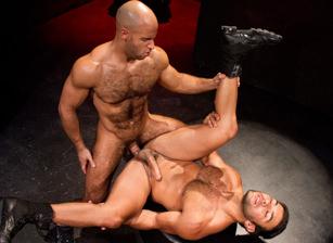 gay muscle porn clip: Labyrinth - Dorian Ferro & Sean Zevran, on hotmusclefucker.com