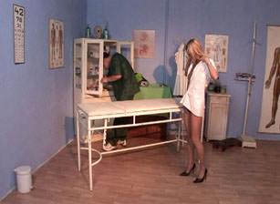 Bi Cream Pie Clinic #01, Scene #01