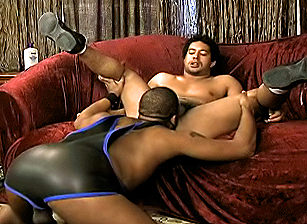gay muscle porn clip: Black Bareback Fuckers, on hotmusclefucker.com