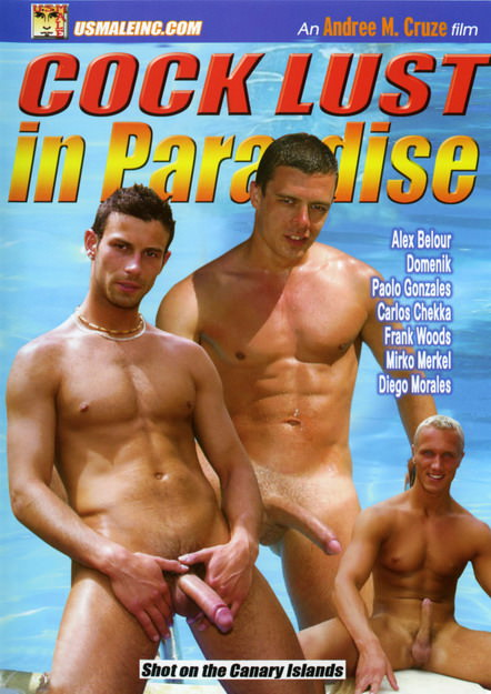 Cock Lust In Paradise, muscle porn movie / DVD on hotmusclefucker.com