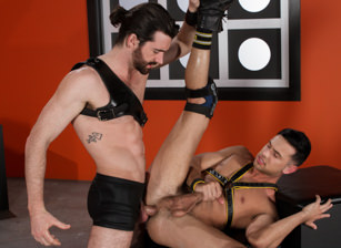 gay muscle porn clip: Slicked Up - Josh Conners & Woody Fox, on hotmusclefucker.com