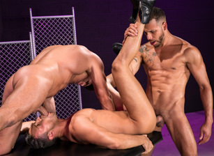 gay muscle porn clip: Primal - Bruce Beckham & FX Rios & Josh Conners, on hotmusclefucker.com