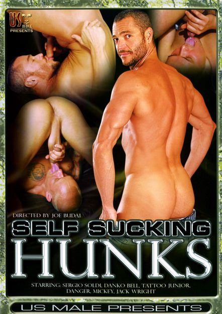 Self Sucking Hunks, muscle porn movie / DVD on hotmusclefucker.com