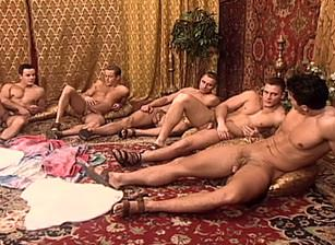 gay muscle porn clip: The Conquest - Fernando Lizalde & Jason Lucian & Joe Calderon & Krisztian Laszlo & Victor Antoni, on hotmusclefucker.com