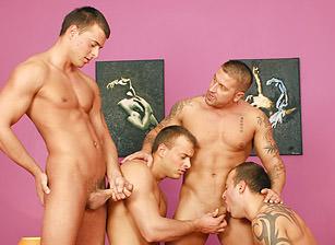 Bedroom Foursome, Scene #01