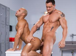 gay muscle porn clip: Beef Squad - Joey D & Sean Zevran, on hotmusclefucker.com