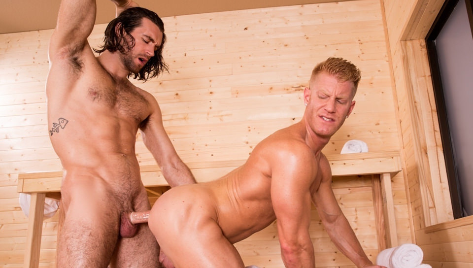 Bathhouse Ballers, Scene # 03 – Johnny V, Woody Fox (hothouse)