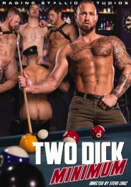 Two Dick Minimum DVD Cover