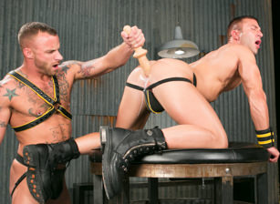 gay muscle porn clip: Hole Busters Vol. 6 - Derek Parker & JR Bronson, on hotmusclefucker.com